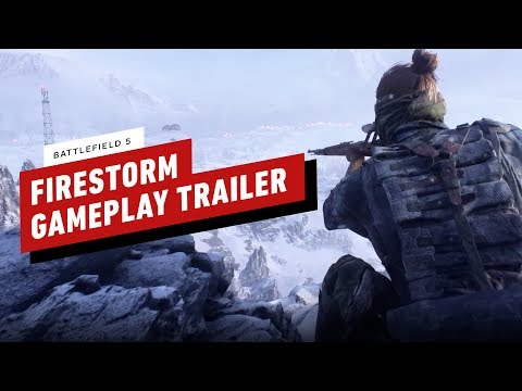 Battlefield V - Firestorm Gameplay Trailer (Battle Royale) - UCKy1dAqELo0zrOtPkf0eTMw