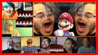 Mario Maker Funny Moments Compilation by Markiplier Reaction Mashup