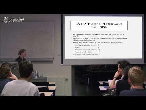 Longtermism Lecture photo