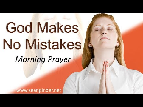 RUTH 2 - GOD MAKES NO MISTAKES - MORNING PRAYER (video)