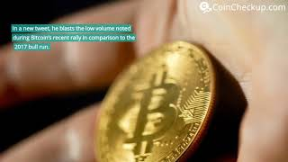 News: Gold Investor Peter Schiff Claims Bitcoin Bottom Won't Hold