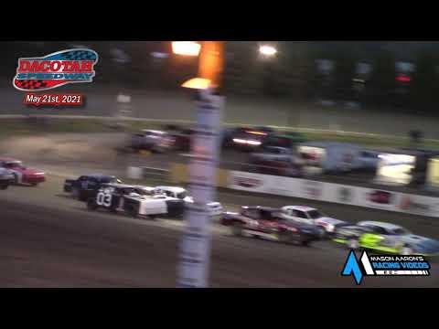 Dacotah Speedway WISSOTA Street Stock A-Main (5/21/21) - dirt track racing video image