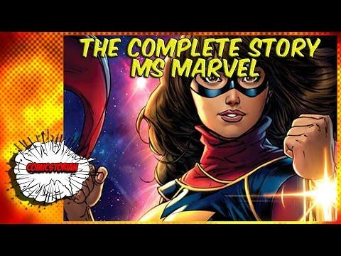 Ms Marvel : No Normal(Kamala Khan) Complete Story | Comicstorian - UCmA-0j6DRVQWo4skl8Otkiw