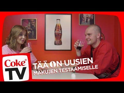 ILONALLA JA BENJAMINILLA ERI COCA-COLAT TESTISSÄ!  | #CokeTVSuomi
