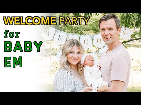 Welcome Party For Baby Emorett