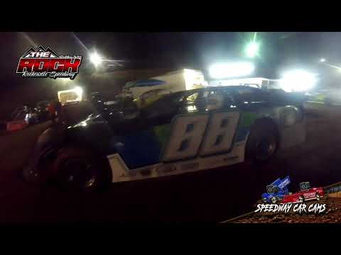 #88 Michael Bugg - Crate Late Model - 10-2-21 Rockcastle Speedway - In-Car Camera - dirt track racing video image
