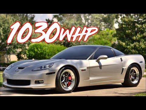 1030HP Turbo Corvette Z06 on Factory Stock Rods!