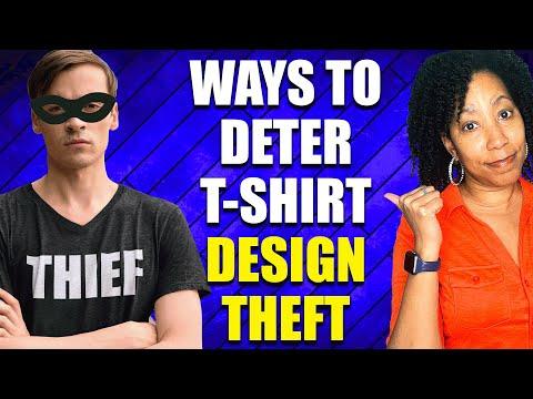 5 Ways to Deter T-Shirt Design (Digital Art) Theft Online (Print on Demand)