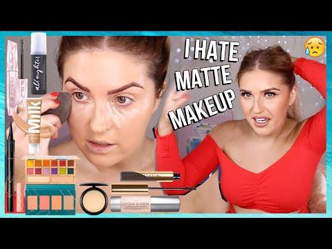 CCGRWM ? full face of MATTE MAKEUP challenge ? hair & makeup tutorial