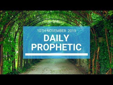 Daily Prophetic 10 November Word 1