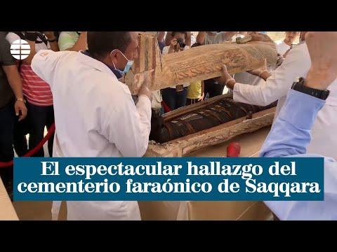 El espectacular hallazgo del cementerio faraónico de Saqqara| EL MUNDO