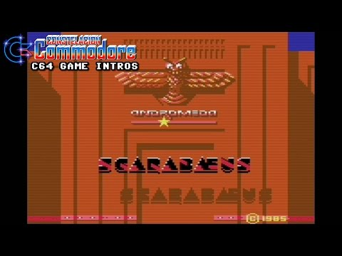 C64 Game Intro: Scarabaeus - Invaders of the Lost Tomb (Ariolasoft,1983)
