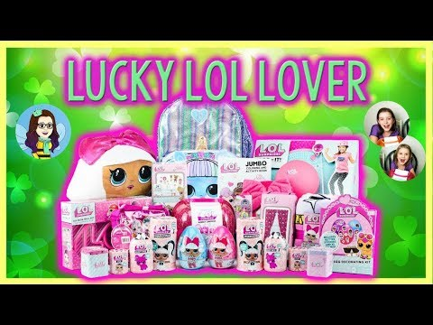 Win a huge L.O.L. Surprise Prize Package worth over $300 Giveaway Image