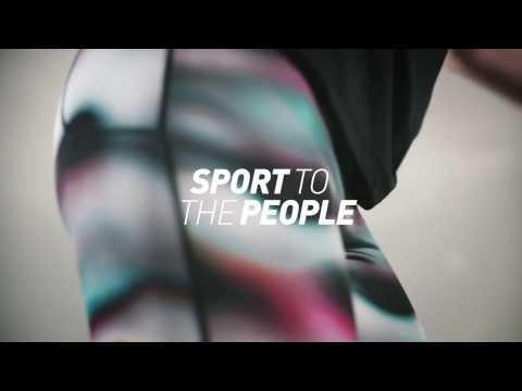 SPORT TO THE PEOPLE - Mountain climber
