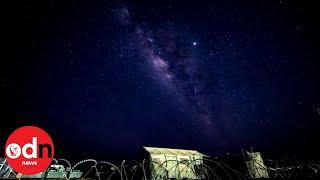 Spectacular Timelapse Shows Milky Way Galaxy Across the Night Sky