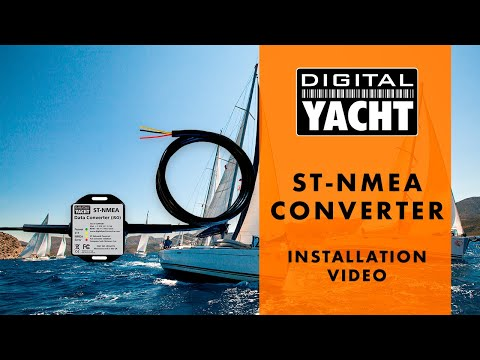 How to install a ST-NMEA convertor - Digital Yacht
