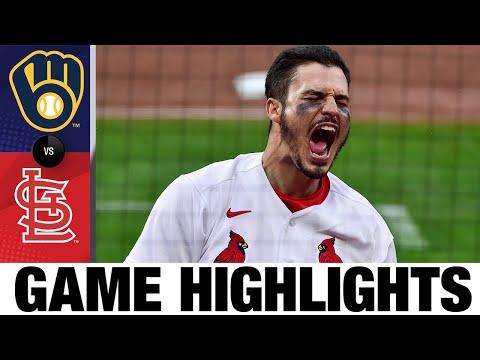 Brewers vs. Cardinals Game Highlights (4/8/21) | MLB Highlights