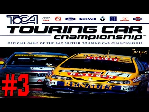TOCA Touring Car Championship - #3 - Codemasters - 1997 - PSX - Español - En Directo -