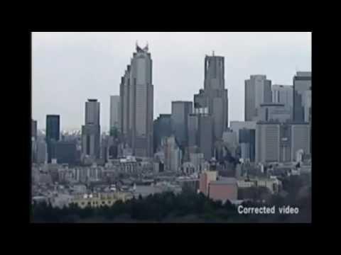 Japonyadaki Gökdelenlerin 9 Şiddetinde sallanışı (Deprem Anı)