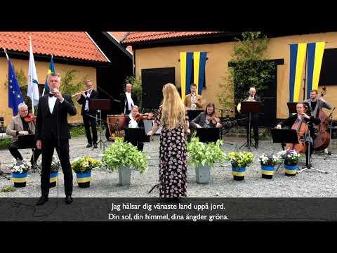 Nationaldagen i Sollentuna 2020: Nationalsången