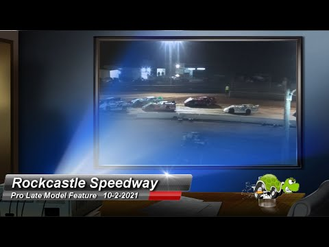 Rockcastle Speedway - Pro Late Model Feature - 10/2/2021 - dirt track racing video image