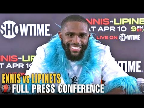 """JARON ENNIS SENDS MESSAGE TO 147LBS DIVISION """"SIGN THE DOTTED LINE!"""" TALKS KO WIN OVER LIPINETS"""