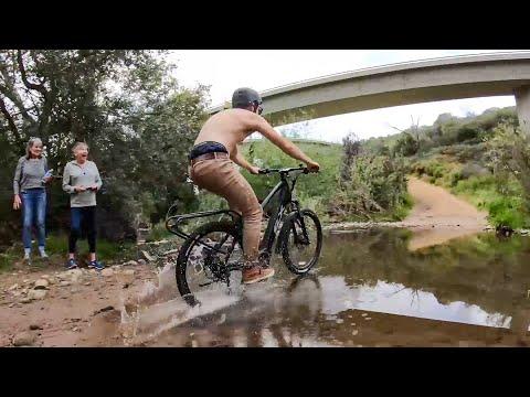S1E3 Field Test: Electric Bikes VS Deep Water