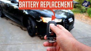 Sostituzione batteria chiave Audi A3-8V