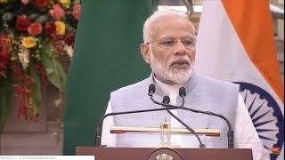 Modi LIVE | PM Narendra Modi & President of Zambia, Edgar Lungu Press Meet in New Delhi | ALO Tv
