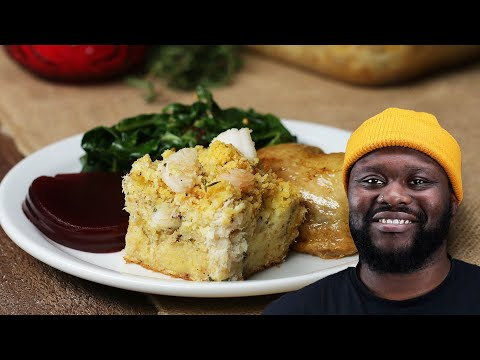 Momma?s Seafood Stuffing As Made By David Osei