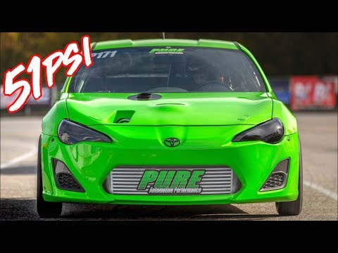 Scion FRS on 51PSI Breaks Deep Into the 7's!