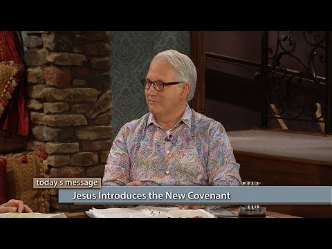 Jesus Introduces the New Covenant