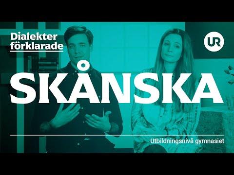 Skånskan förklarad | SVENSKA | Gymnasienivå