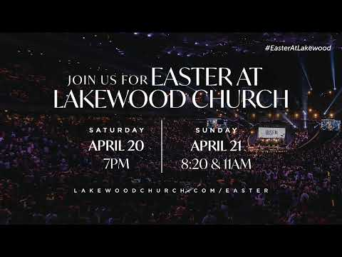 Lakewood Church Easter Sunday Service