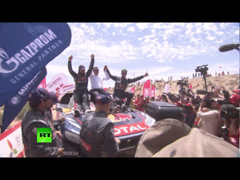Silk Way Rally 2016: Drivers finish last stage of race