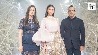 Showstopper Aditi Rao Hydari at Pankaj & Nidhi's India Couture Week debut