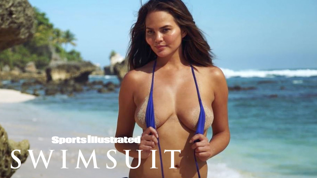 Chrissy Teigen Shows Off Her Post-Baby Body   Sports Illustrated Swimsuit