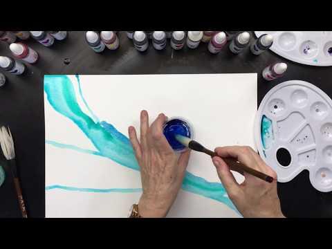 ( 690 ) Watercolour backround