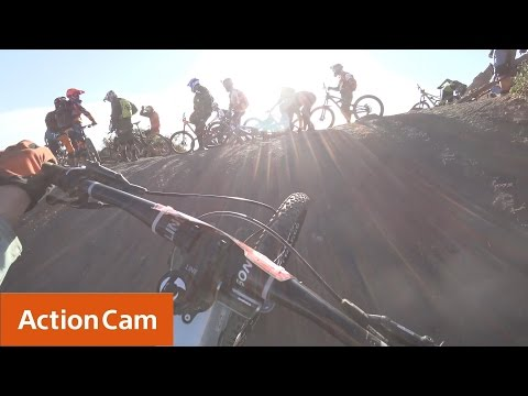 Action Cam | Casey Brown's Race in 4K! | Sony