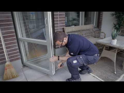 Underhåll av fönster och dörrar