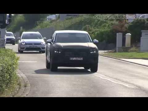 Volkswagen Touareg MY 2018 | Spy video (august 2016)
