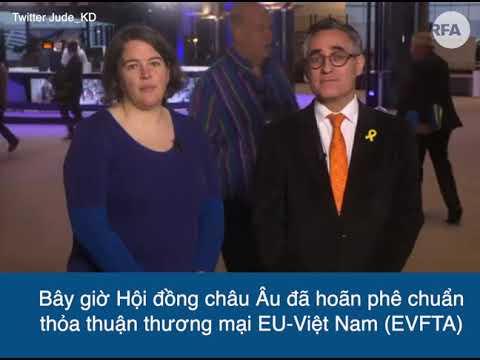 Nghị sĩ Châu Âu nhắc đến Lộc Hưng, thông báo hoãn phê chuẩn EVFTA