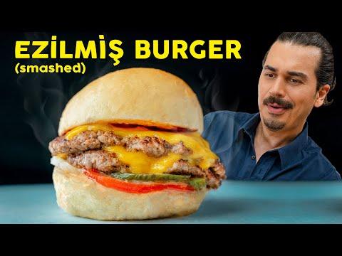 Evde Unutulmaz Bir Burger Ziyafeti İçin Yumuşak Patatesli Ekmeğiyle SMASHED (Ezilmiş) BURGER Tarifi