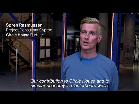 Circle House - Gyproc partner i Danmarks første cirkulære almene boligbyggeri