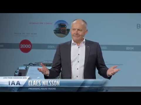 Volvo Trucks - Press conference from IAA 2018