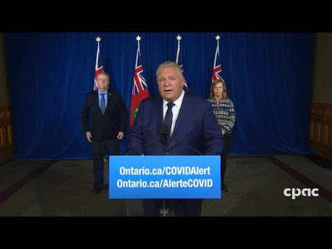 Ontario Premier Doug Ford provides COVID-19 update – November 27, 2020