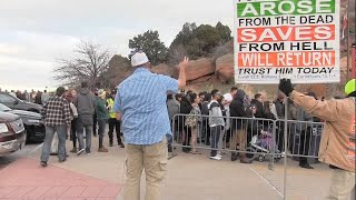 Snoop Dogg Concert Denver, CO - PROBLEMS w/POLICE - Street Preaching - Kerrigan Skelly