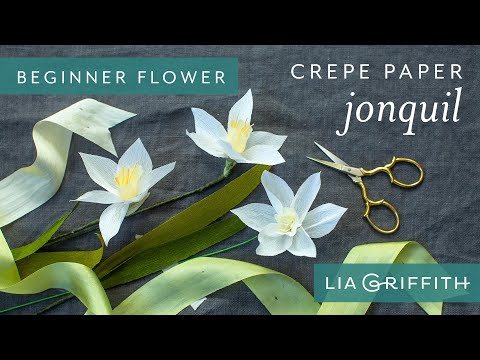 How to Make a Jonquil Bloom - Secret Garden Starter Flower