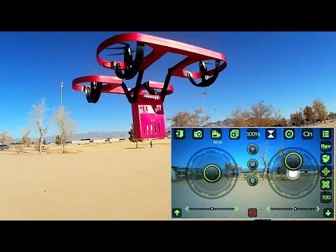 TYRC TY6 Sky Overlord Pendulum Stabilized HD Camera Drone Flight Test Review