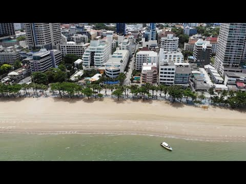 Pattaya beach reopens as Thai loosens virus restrictions | AFP